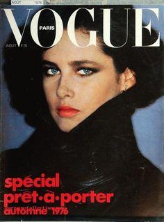 Dayle Huddon, Vogue Paris, August 1976. Photo Helmut Newton
