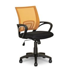 Loft Mesh Office Chair – Orange