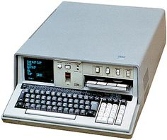 IBM  5100... In September 1975, IBM announced its smallest and first portable computer (If you consider a 28 Kgs. computer portable, that is), the IBM 5100, no bigger than one of IBM's typewriters.    Developed in Rochester, it used the same operating system as IBM's /370 line of main frames. Thus it could accommodate the same APL interpreter, permitting the use of APL programs. A BASIC interpreter was also available, depending of the 5100 version chosen.