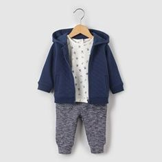 Ensemble sweat, t-shirt et jogpant 1 mois-3 ans R mini - Ensemble
