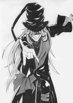 Black Butler ~~ Secret Surfer-boy, the Undertaker! :: Imagine him posed atop a long board. Yes, it works. ^_^
