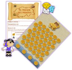 Piratenspel, free printable Jack Le Pirate, Preschool Pirate Theme, Pirate Games, Cycle 3, Activities For Kids, Teaching, Maths, Logo, Peter Pan