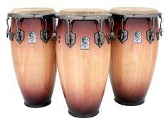 Toca Percussion Eric Velez Signature Quinto Drum Natural Sunburst 4911-EVB