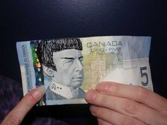 """Leonard Nimoy died on Friday, and he got a variety of tributes, but few are weirder than the drawings of Spock on Canadian banknotes. It has become known as """"Spocking."""" The Bank of Canada feels that writing and markings on bank notes are inappropriate as """"they are a symbol of our country and a source of national pride,"""" The spokeswoman also said disfigured bills may not circulate for as long and risk being rejected by retailers."""