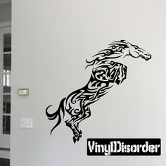 Horse Wall Decal - Vinyl Decal - Car Decal - DC006