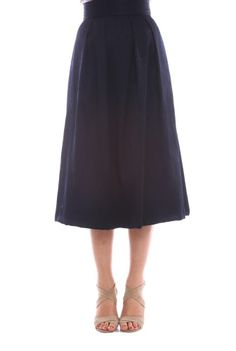 Fusta in clos bleumarin BRN-21801174 -  Ama Fashion