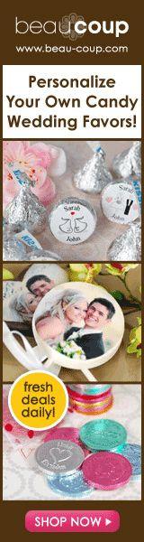 Shop Wedding Favors @ Beau-coup.com
