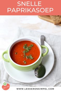 Paprika Recipes, Soup Recipes, Healthy Recipes, Happy Foods, Budget Meals, Superfood, Food For Thought, Food And Drink, Favorite Recipes