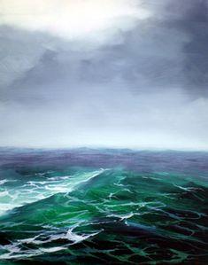 Stormy Sea: by nancy hogan armour