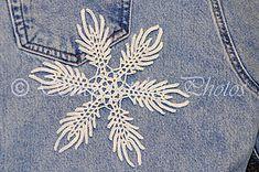 Ravelry: Indigo Ice Snowflake pattern by Deborah Atkinson