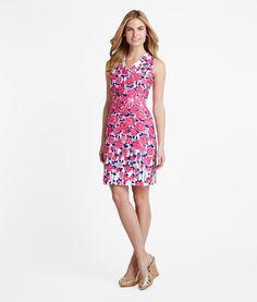 Buy Rose Print Dress for Women   Vineyard Vines® Jen's Pick!