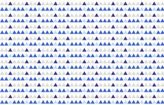 Blue and Grey Triangles fabric by modfox on Spoonflower - custom fabric