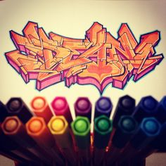 "Graffiti Blackbook work by ""DEAN"""