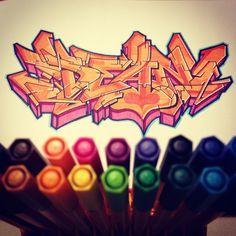 "Graffiti Blackbook work by ""DEAN"""