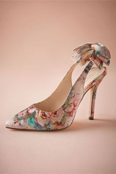 Floriography Pumps in Shoes & Accessories Shoes at BHLDN