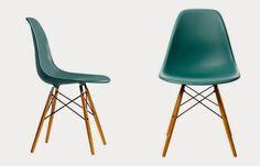 """Un hito del glamour en el diseño de este mobiliario fue la """"Eames"""", diseño original de 1956, cuya inspiración procede de un sillón de club inglés, es muy cómoda y sofisticada, perfecta para poner en el salón o en la biblioteca de una casa de campo."""