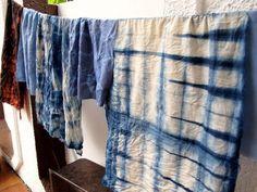 DIY Shibori & Reverse Tie Dye