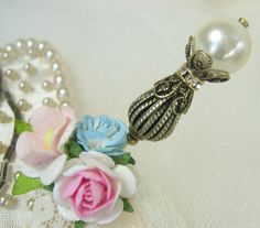 Pearl Hat Pin and Stick Pin