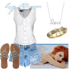 lazy afternoon, created by samshe on Polyvore