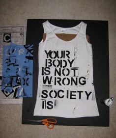 O Seu corpo não está errado, a sociedade que está!