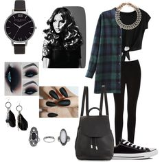 Untitled #12 by beanieharry7 on Polyvore featuring polyvore, fashion, style, Oasis, Converse, rag & bone, Yves Saint Laurent, Olivia Burton, MANGO, Topshop and BaByliss Pro
