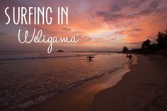 Want to learn to surf? Weligama Beach in Sri Lanka is perfect for beginners - less time paddling out, more time catching waves!