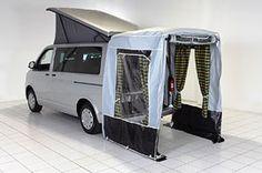 Optional rear tailgate awning