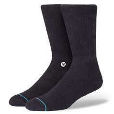 97c785a73c1c1 Stance Men s Icon Classic Crew Sock at Amazon Men s Clothing store   Designer Socks