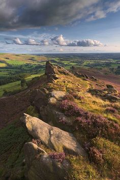 Ramshaw Rocks in the Staffordshire Moorlands