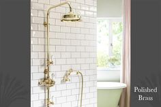 """CATCHPOLE & RYE £1,450.00Chrome Plated - 08"""" rose  •Spout Reach: 447mm •Shower Rose: 8inch, 10inch or 12inch  http://www.catchpoleandrye.com/products/showers/le-thermo-range/le-thermo-grand-exposed/"""