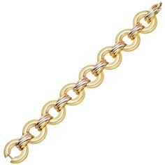 "CARTIER Gold ""Trinity"" Link Bracelet 