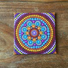 Mini Mandala Canvas