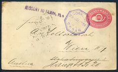 316610 - Lot 502 - Guatemala - Covers - 1894 Guatemala 10c red Postal Stat cover sent Cobon to Austria,… / MAD on Collections - Browse and find over 10,000 categories of collectables from around the world - antiques, stamps, coins, memorabilia, art, bottles, jewellery, furniture, medals, toys and more at madoncollections.com. Free to view - Free to Register - Visit today. #Stamps #PostalHistory #MADonCollections #MADonC