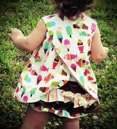 Reversible Pinafore Top by paperprincess34 on Etsy, $30.00