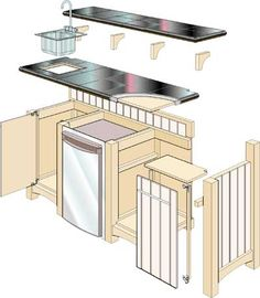 Free Home Bar Building Plans | Home Bar Plans – Easy to Build Home Bars and Bar Pub Designs