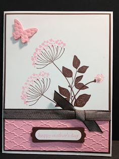 Summer Silhouettes Stampin' Up! Card