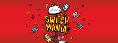 SWITCH MANIA @ Sunway Pyramid 30 March – 2 April 2017  没错没错没错!! Switch 再次推出疯狂活动! 以先到先得的规矩 一天只有20张的票 一个人一张票的情况下 !  Switch Mania 给全部人带来大惊喜 !! 最大奖是iPhone 7 !! 而且只需要付RM99 !!