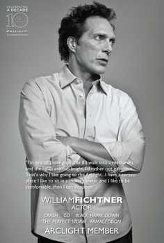 ArcLight Cinemas 10th Anniversary Celebrity Campaign by LUCEY STEPP with Bill Fichtner