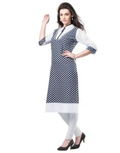 Cotton kurti can wear on casual events or functions that will actually catch attentions. Cotton kurti come with traditional ideas and provide decent look. Latest Fashion Dresses, Traditional Dresses, Kurti, Casual Wear, Designer Dresses, Dresses For Work, How To Wear, Cotton, Beautiful