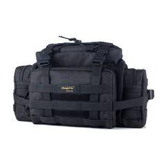 SHANGRI-LA Tactical Assault Gear Sling Pack Range Bag with Shoulder Strap - CP