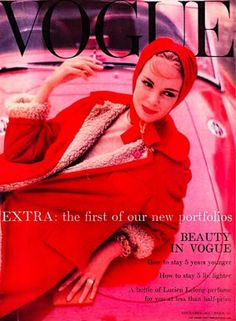 Ciao Bellissima - Vintage Cover Coquettes; British Vogue November 1957