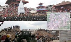 Entire hillside villages have been flattened in Nepal earthquake