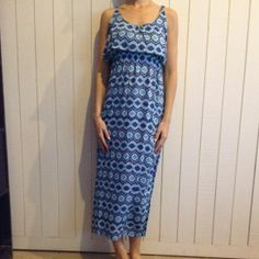 handmade Dresses & Skirts - Jet setting gypsy: gorgeous overlay maxi