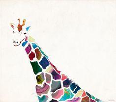 giraffe by kasiQ