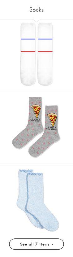 """Socks"" by savannah2018isugly ❤ liked on Polyvore featuring intimates, hosiery, socks, grey multi, grey crew socks, gray crew socks, topshop socks, crew socks, grey socks and lace hosiery"