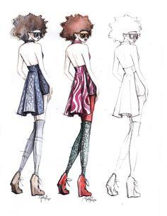 fashon illustration | Kathryn Elyse Fashion Illustrations | Trendland: Design Blog & Trend ...