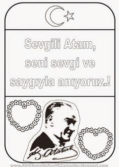 79 En Iyi Atatürk Görüntüsü Day Care Preschools Ve Craft Kids