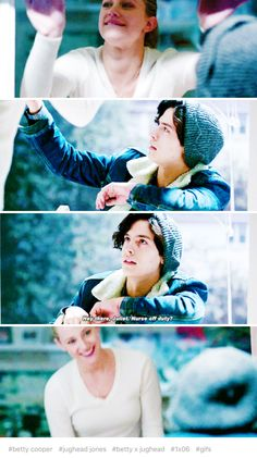 Betty and Jughead from Riverdale Bughead Riverdale, Riverdale Archie, Riverdale Funny, Riverdale Memes, Riverdale Betty And Jughead, Riverdale Cole Sprouse, Betty Cooper, Archie Comics, Kpop
