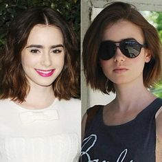 New Hair 2014: See Celebrity Hair Makeovers! - Lily Collins from #InStyle