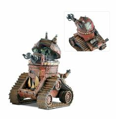 A Grot tank coming to life – Miniature darkness